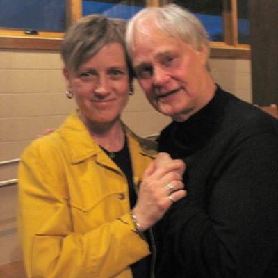 With American cello improvisor extraordinaire David Darling, 2010.