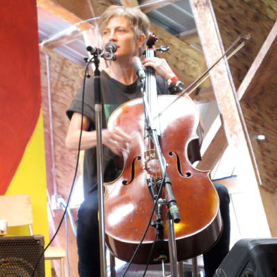 With Peter J Slack, Midsummer Festival, Smithers, BC, 2011