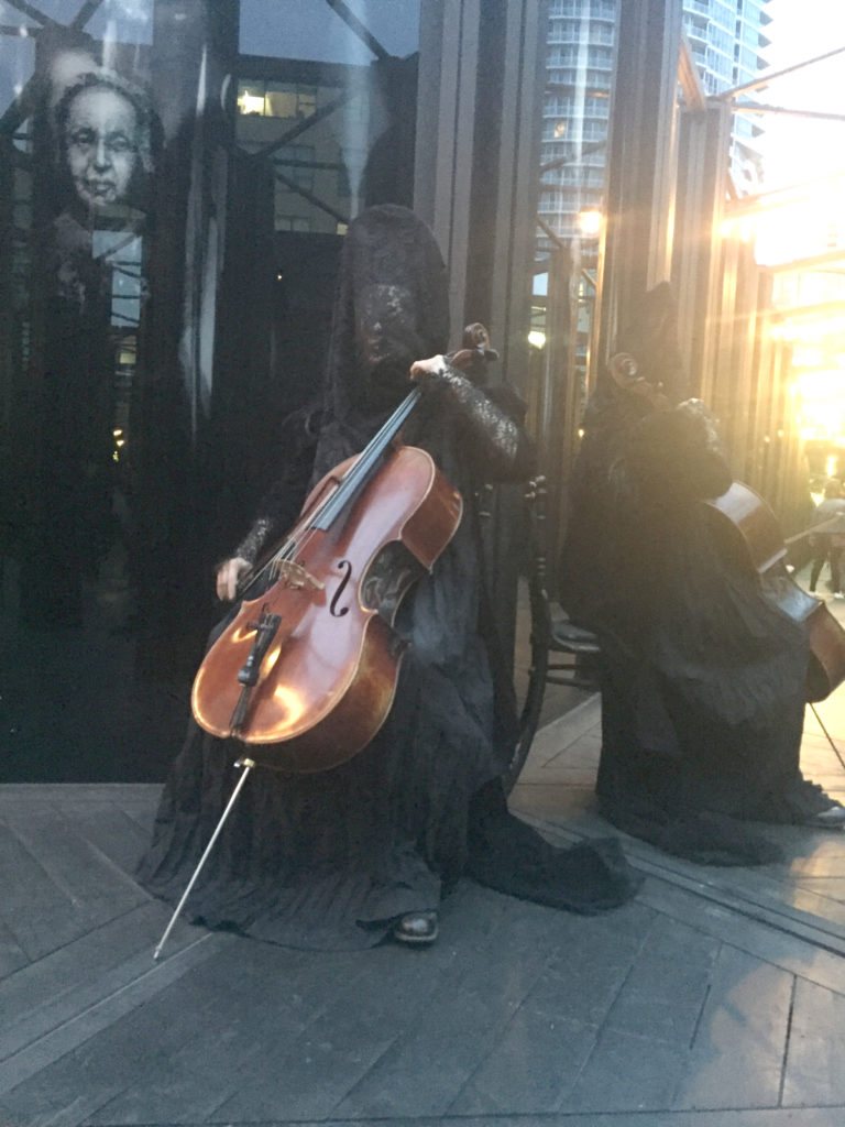 Ghost Cellist
